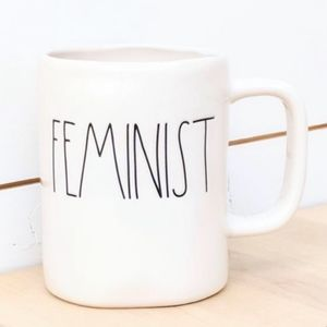 Rae Dunn Feminist Ceramic Coffee Tea Mug